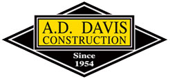 AD Davis Construction Logo